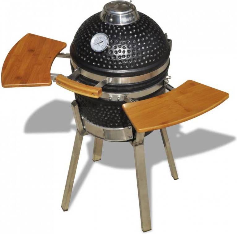 VidaXL Kamado barbecue 81 cm keramiek Ovenwebshop.nl